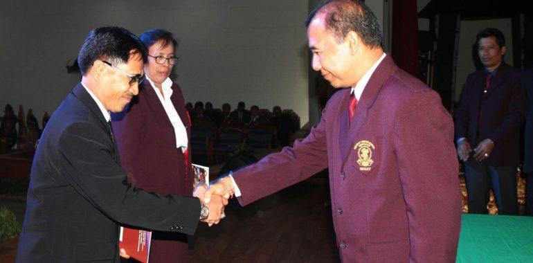 Sidang Terbuka Senat Isi Denpasar Mahasiswa Baru Tahun Akademik 2017/2018
