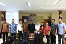FSRD ISI Denpasar Gelar acara Bali art Selection Workshop Wayang Prasi
