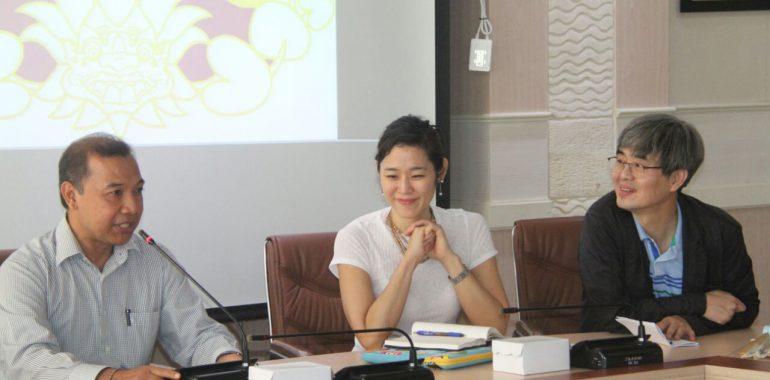Kolabirasi Seoul Institute of The Arts dengan ISI Denpasar Rancang Perkuliahan Berbasis IT