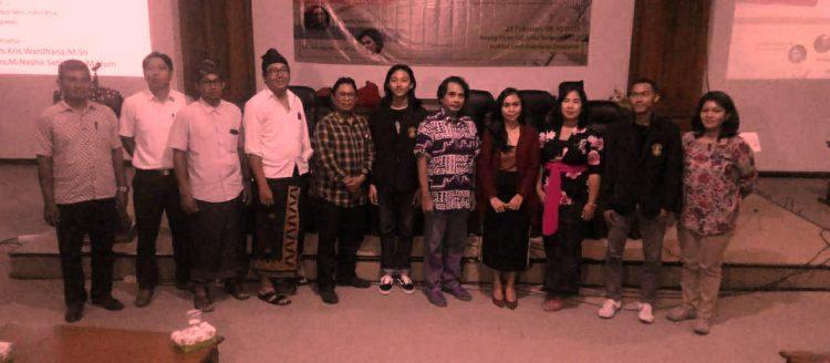 Hadirkan Pengajar Sketsa, ISI Denpasar Gelar Copic Workshop